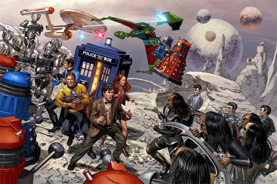 Doctor Who vs Star Trek